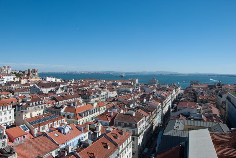 Altstadt von Lissabon I Städtebau Schachbrett