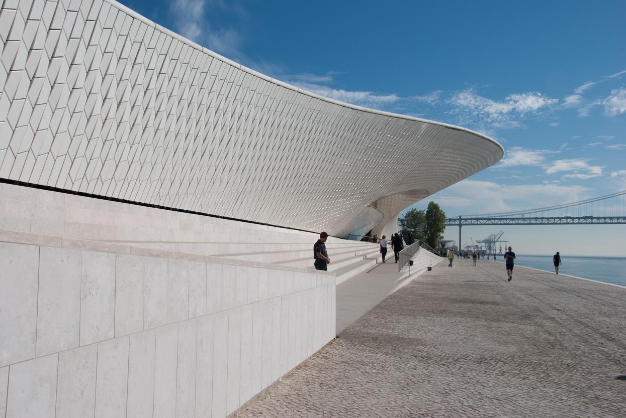 White Cube Ausstellung Museumsquartier Belem Lissabon