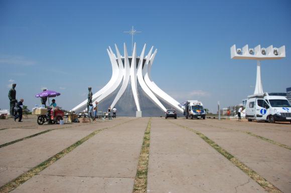 Akustisches Phänomen in der Kathedrale von Brasília