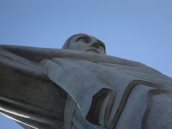 Wahrzeichen Rio de Janeiro Christusstatue