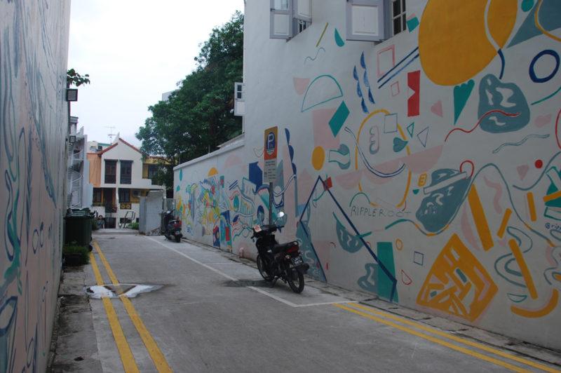 Vom Rotlicht- zum Hipster-Viertel Singapur Keong Saik
